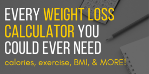 Weight loss calculator by percentage