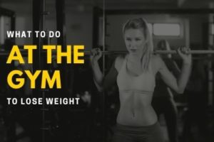 what to do at the gym to lose weight